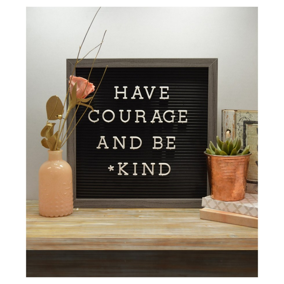 Letterboard from Target