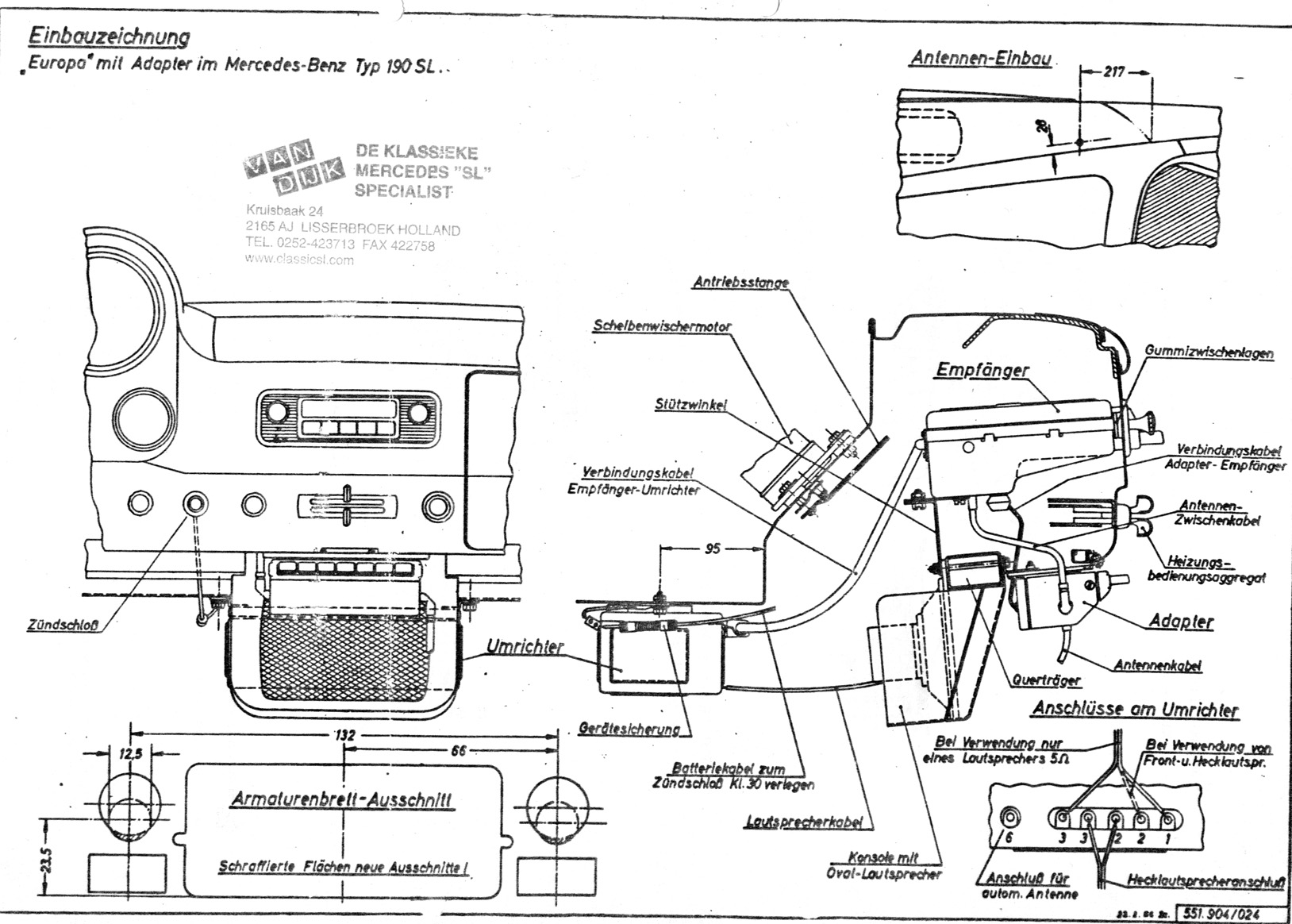 Sl500 Radio Terminal Diagram