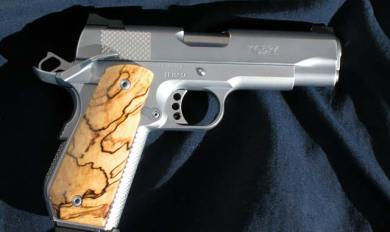 Custom Wood 1911 Grips   Wooden Thing