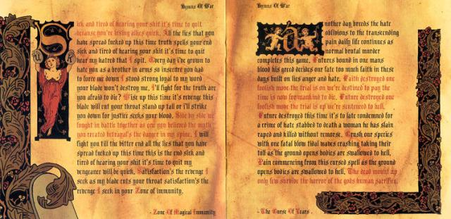 Hymns of War in a mediaeval style