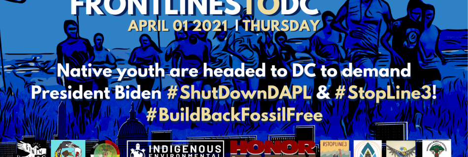 Frontlines to DC Build back Fossil Free!
