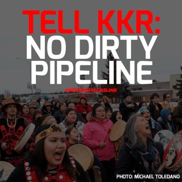 tell KKR: no dirty pipeline