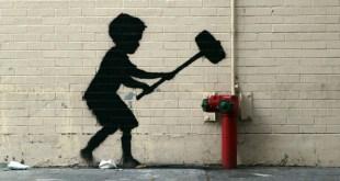Banksy loi travail lutte
