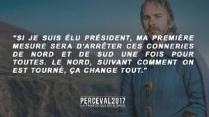 perceval NORDSUD programmes présidentiels