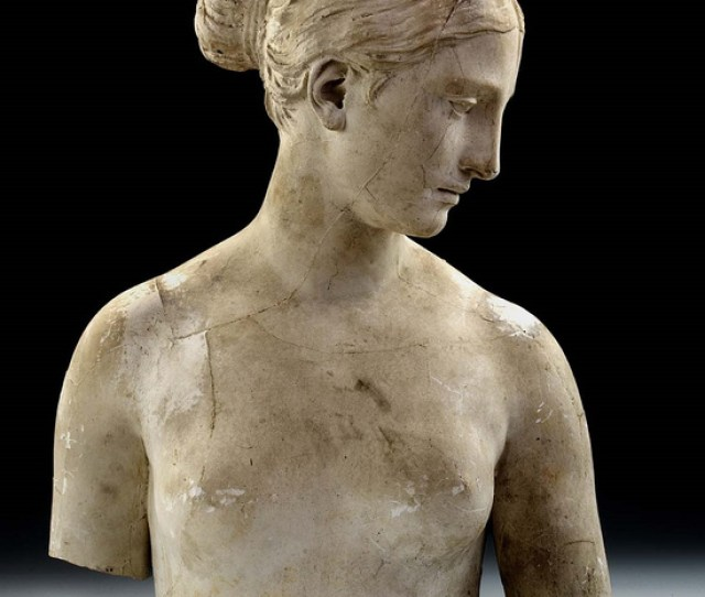 Hiram Powers Torso Of The Greek Slave With Casting Seams   Plaster Smithsonian American Art Museum Washington Dc Museum Purchase In Memory