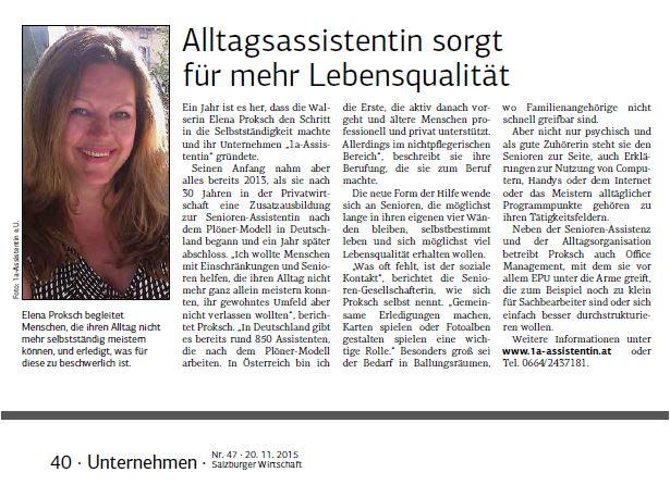 Salzburger Wirtschaft #47 - 201115