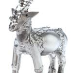 Zu Weihnachten: Metallfigur Steinbock ein prima Geschenk