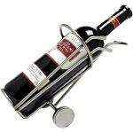 Zu Weihnachten: Weinflaschenhalter als Golfbag ein prima Geschenk