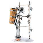 Zu Weihnachten: Schraubenmännchen Weinlese ein prima Geschenk