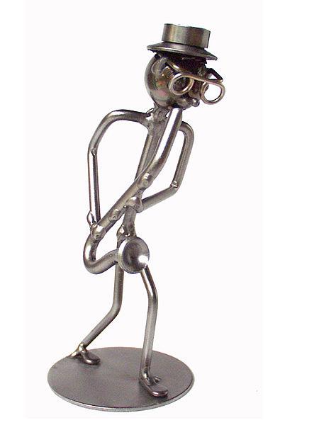 Metallmann Saxophonist - Wired Line