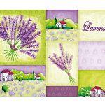 Zu Weihnachten: Fußmatte Lavendel ein prima Geschenk