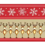 Zu Weihnachten: Fußmatte mit lustigem Elchmotiv ein prima Geschenk