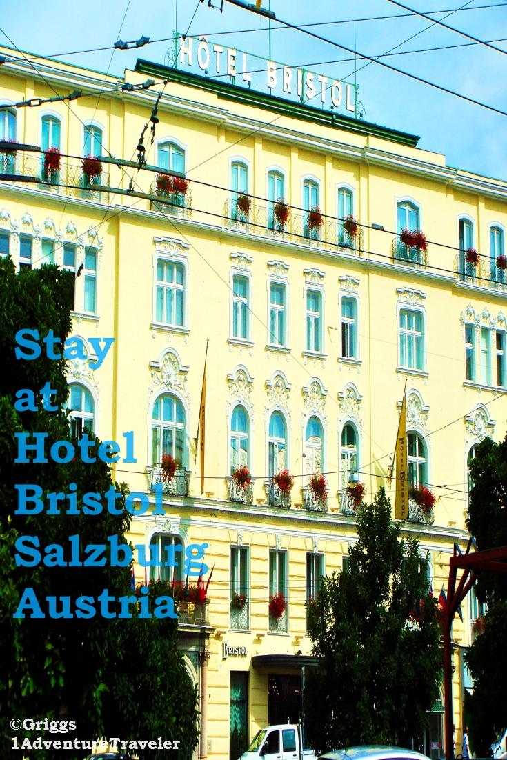 Stay at the luxury hotel bristol salzburg 1adventure for Designer hotel salzburg