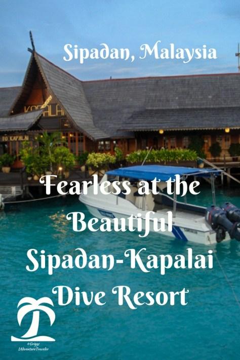 Fearless at the beautiful sipadan kapalai dive resort - Sipadan dive resort ...