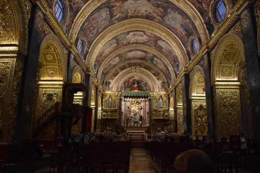 La cocathédrale St Jean de La Valette