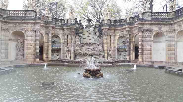 Le palais du Zwinger