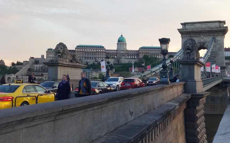 Le pont des chaînes Széchenyri