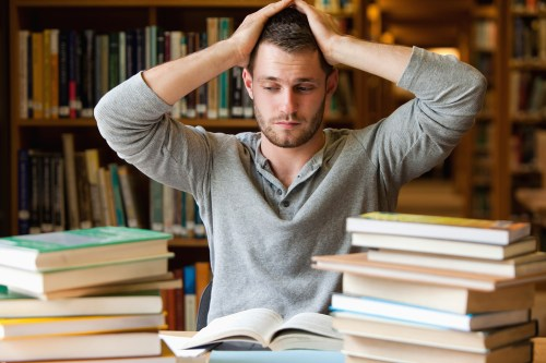 Image result for stressed college students