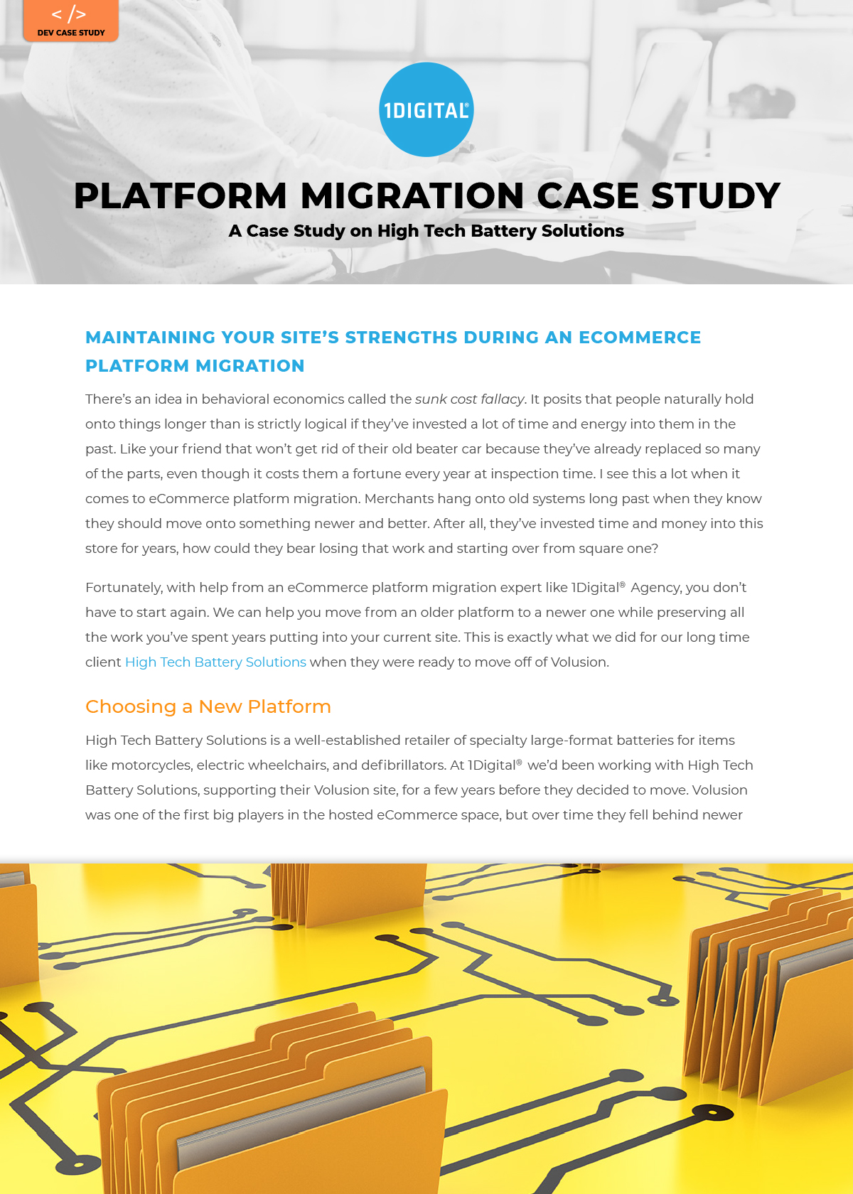 Maintaining Your Site's Strengths During an eCommerce Platform Migration