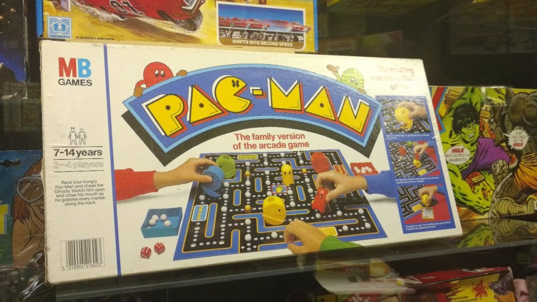 Pac-Man board game gets me nostalgic for 1980s video games.