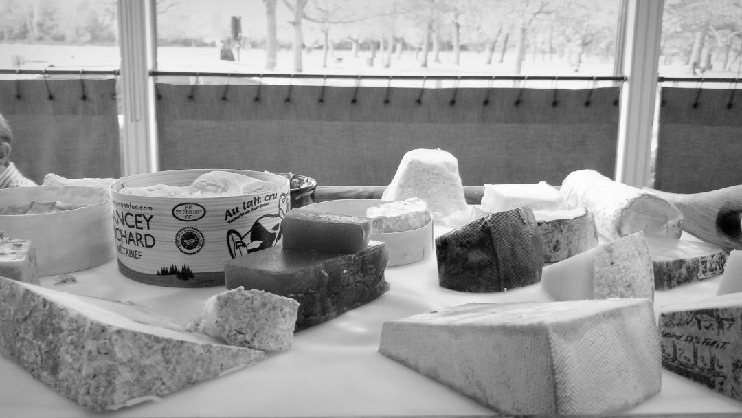 The cheeseboard at Chez Bruce is legendary with its myriad array of cheeses from Britain and beyond.