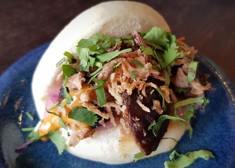 Shittake mushroom bao is an umami hit at Daddy Bao in Tooting.