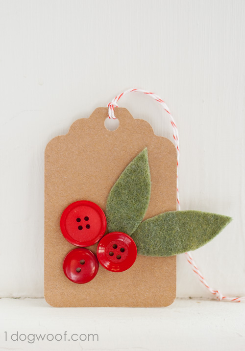 Holly springs gift tags