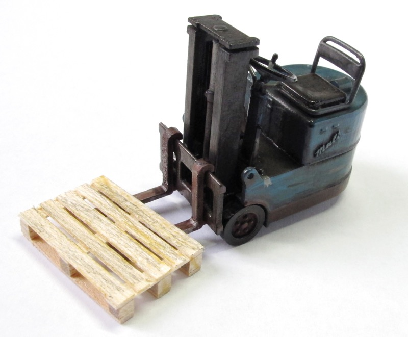 Gabelstapler in 3D-Druck