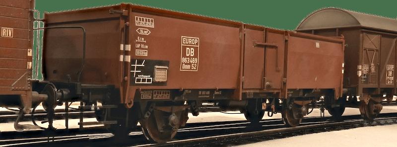 Güterwagen Omm 52 Gesamt