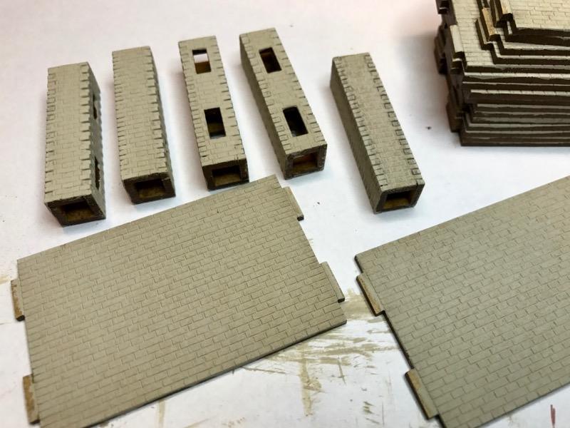 Grundierung Ziegelmauerwark