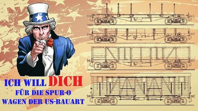 Crowdfunding für US-Kriegs-Güterwagen