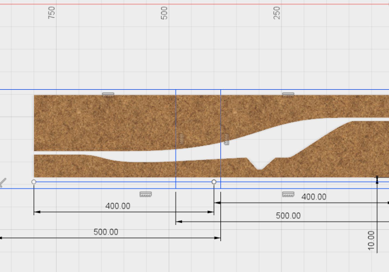 Fusion 360 und Bauteile mit Überlänge fräsen