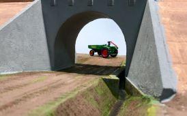 Feldwegbrücke