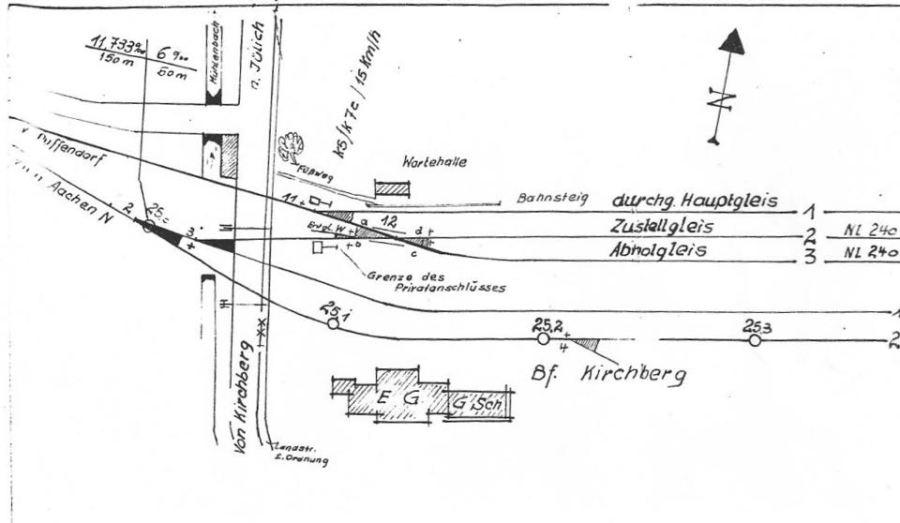Gleisplan Seite 9