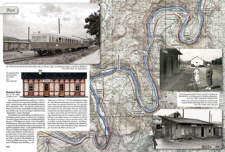 Moselbahn in Riol