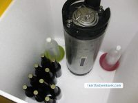 Kegged Beer and Bottled Beer in the Cool Box