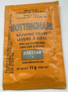 Nottingham Dried Yeast Packet