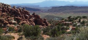Fiery Furnace viewpoint, Arches