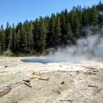 Solitary Geyser Yellowstone NP