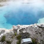 Saphire Pool Yellowstone NP