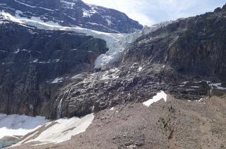 Glacier Angel Mount Edith Cavell