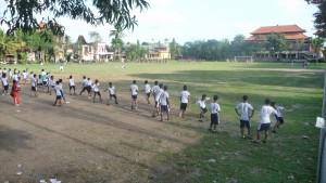 terrain de football à Ubud