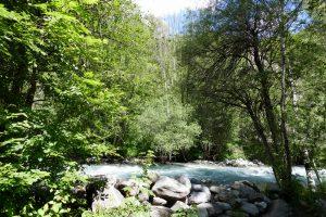 Vallouise, randonnée vers la cascade de la Pissette