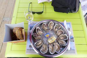 Dégustation d'huîtres, Gujan-Mestras