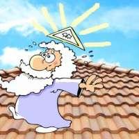 Deus subiu no telhado