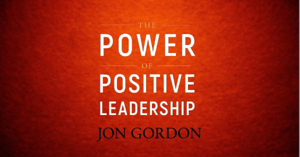 Most of us are not naturals when it comes to positive leadership. We have to work at developing and refining that skills. Jon Gordon's book, The Power of Positive Leadership is a practical and valuable guide to help you grow your positive leadership muscles.
