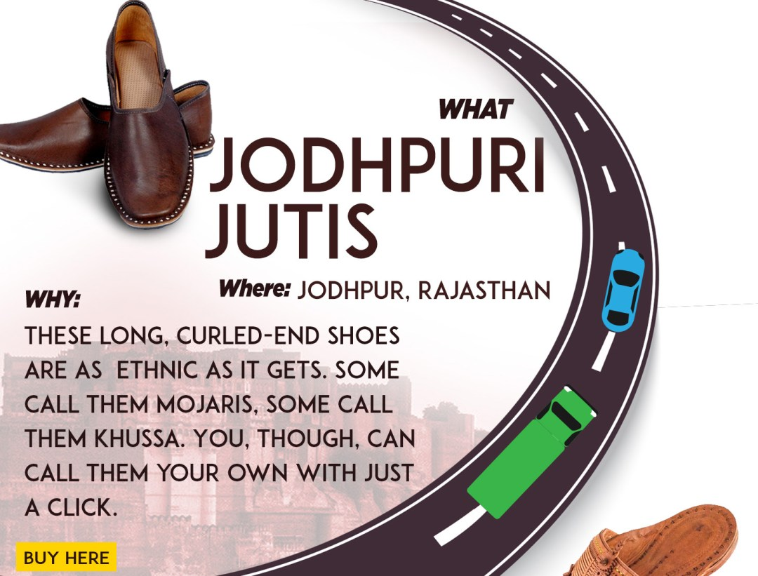what Jodhpuri jutis