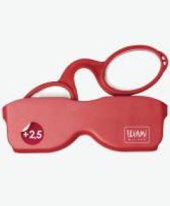 Cestovné MINI okuliare červené