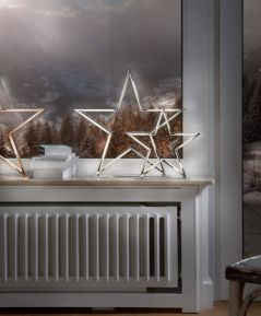 LED dekorácia hviezda malá 72131