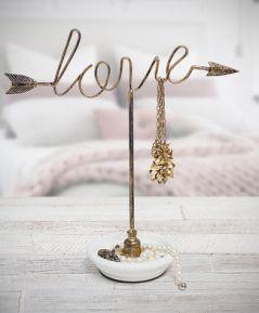 Stojan na šperky LOVE